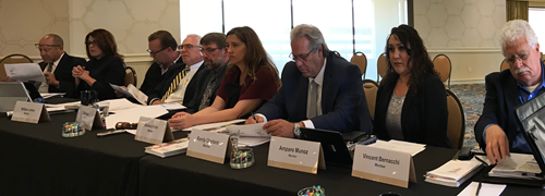 Image of Dig Safe Board Members at 2018 Education and Outreach Meeting