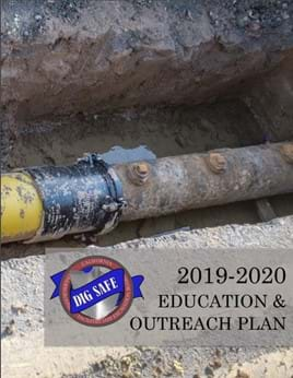 Cover of 2019-202 Education and Outreach Plan