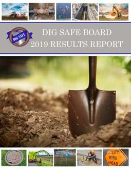 Image of Dig Safe Board 2019 Results Report Cover