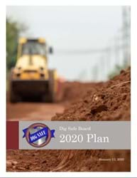 Image of the Dig Safe Board 2020 Plan Cover